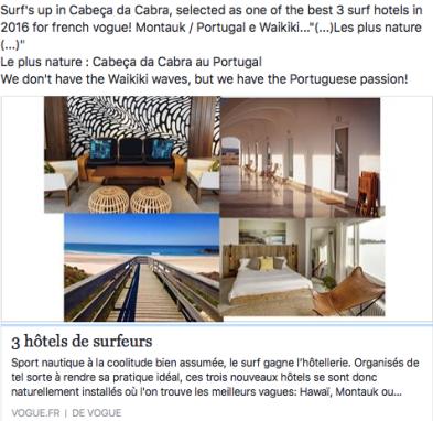 """""""3 hôtels de surfeurs   Hawai, Montauk, Portugal   VOGUE"""